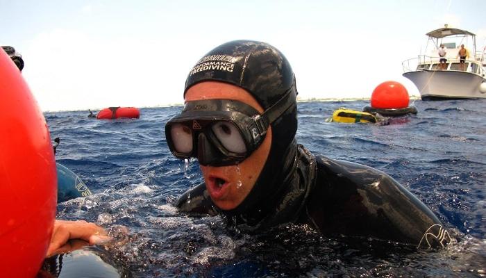 Freediving Breathe Up