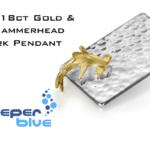 Win a 18ct Gold & Silver 3D Hammerhead Shark Pendant