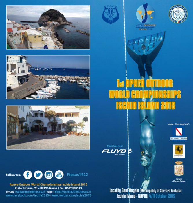 CMAS Apnea Outdoor World Championships 2015
