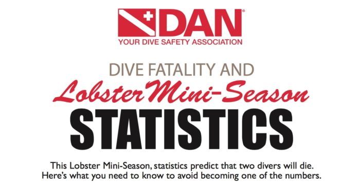 DAN Releases Poster Illustrating Dive Risks During Lobster Season