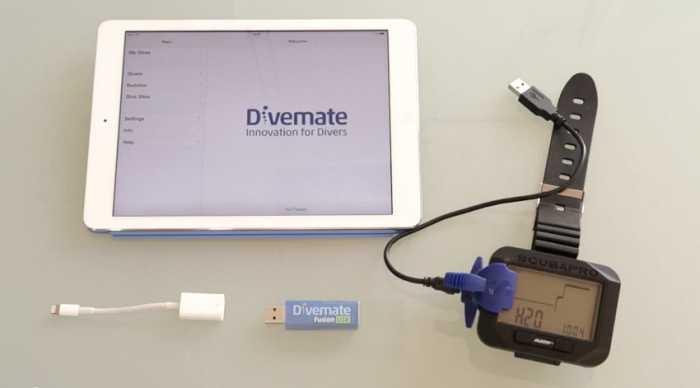 LiquidApps' New DiveMate Fusion Accessory