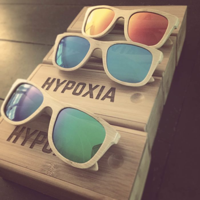 Hypoxia Outfitters Bamboo Sunglasses