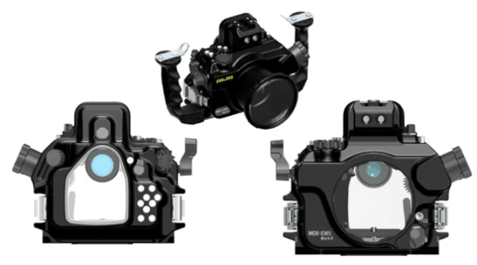 SEA&SEA's MDX-EM5 MK ll Underwater Housing