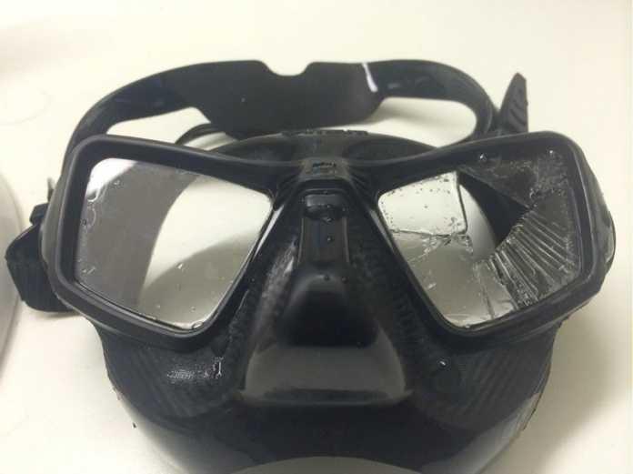 Omersub Zero Cube Dive Mask