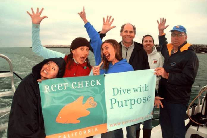 Reef Check is conducing a crowdfunding campaign to pay for a Channel Islands expedition.