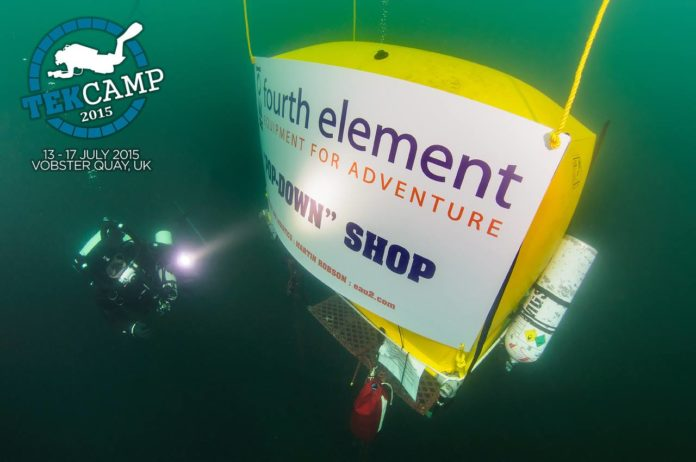 Fourth Element sponsored an underwater