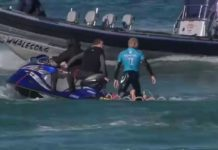 Mick Fanning Shark Bump and J-Bay Open