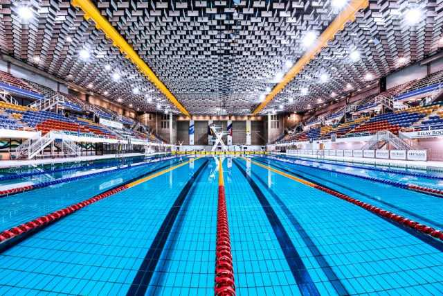 Panpacs will be held at the featured pool at the Sleeman Sports Complex