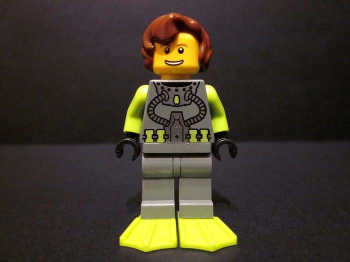 Sylvia Earle LEGO Minifig