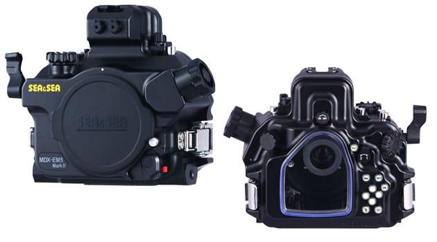 SEA&SEA's MDX-EM5 Mark ll Underwater Housing for Olympus's OM-D E-M5 Mark ll Mirrorless Digital Camera