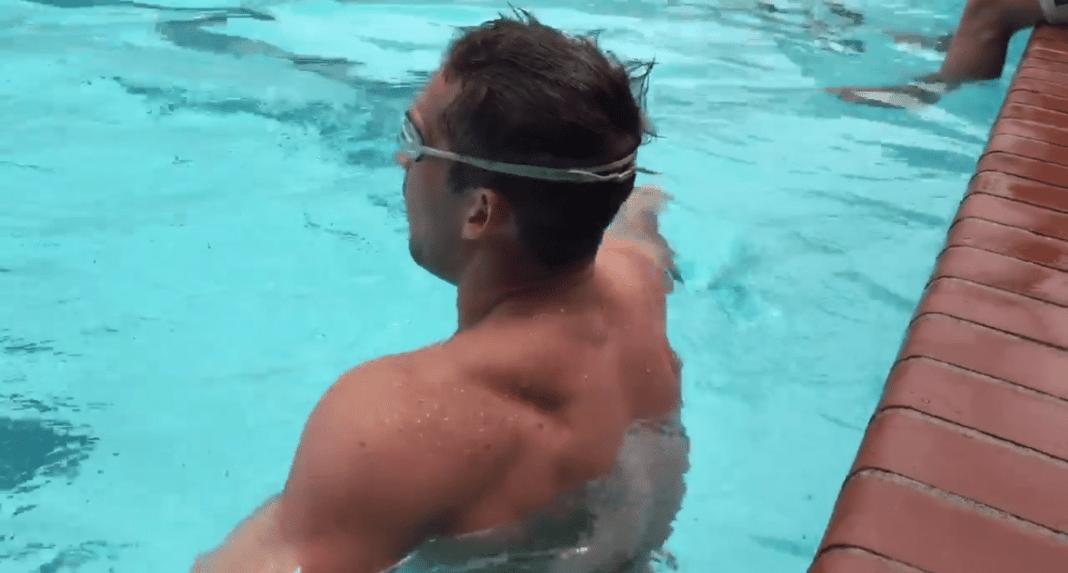 Underwater EMOM — Ben Smith - The CrossFit Games