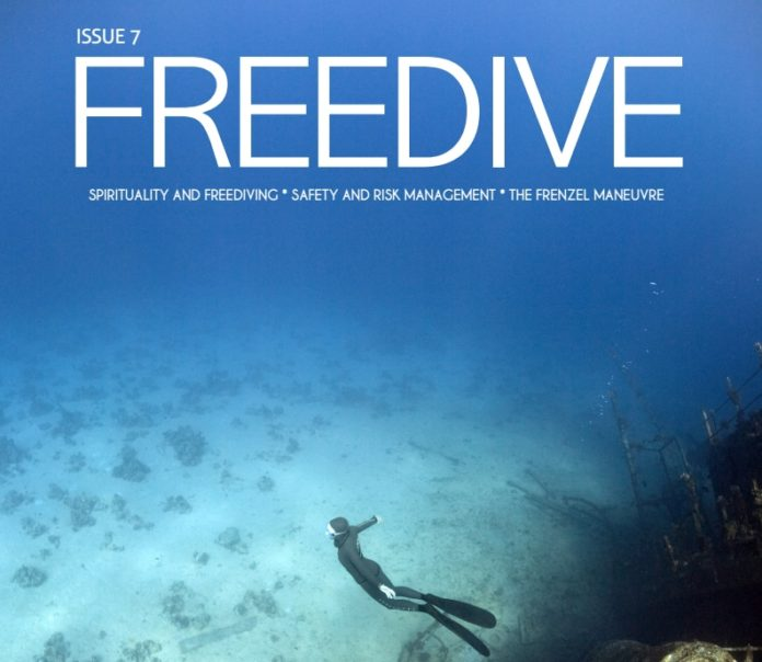 Freedive Magazine Issue 7 Cover