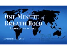 One Minute Of Breath Hold For Natalia Molchanova
