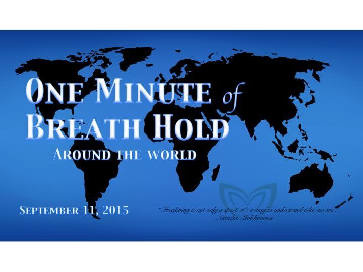 One Minute Of Breath Hold For Natalia Molchanova