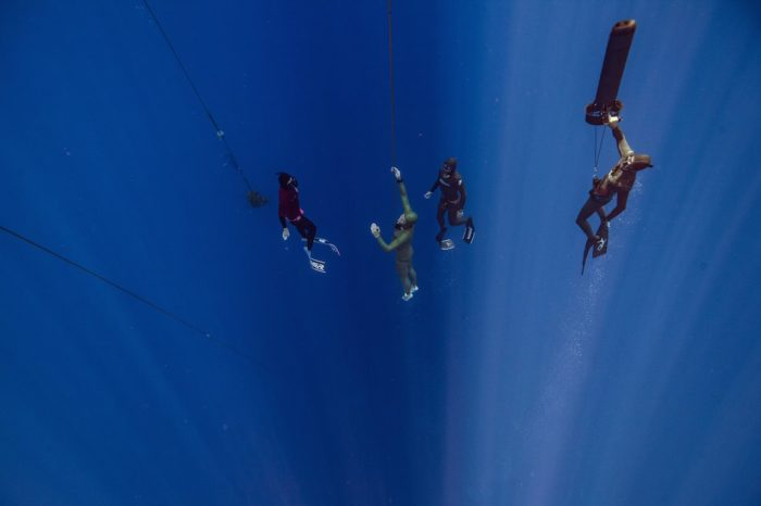 Jesper Stechmann (Denmark) Reclaims His Free Immersion National Record With A 92m Dive