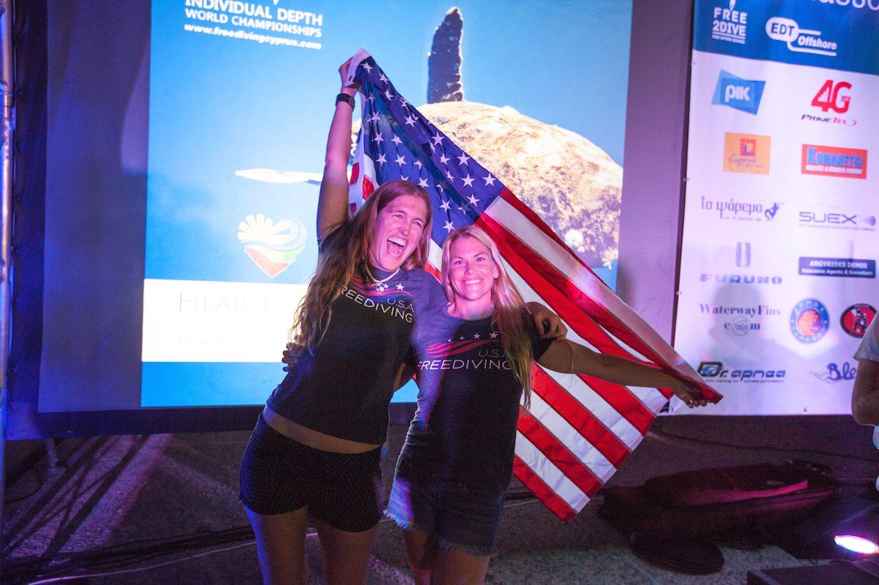 Team USA #aidaworldchampionship