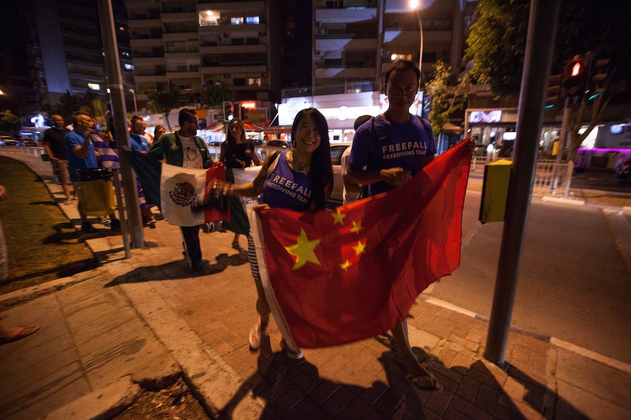 Team China #aidaworldchampionship