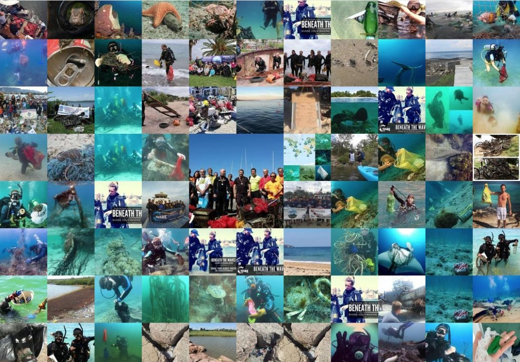 Project AWARE Launches New #BeneathTheWaves Photography Campaign