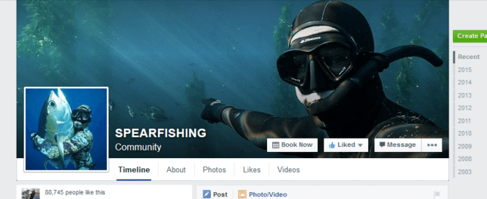 Spearfishing Facebook Group