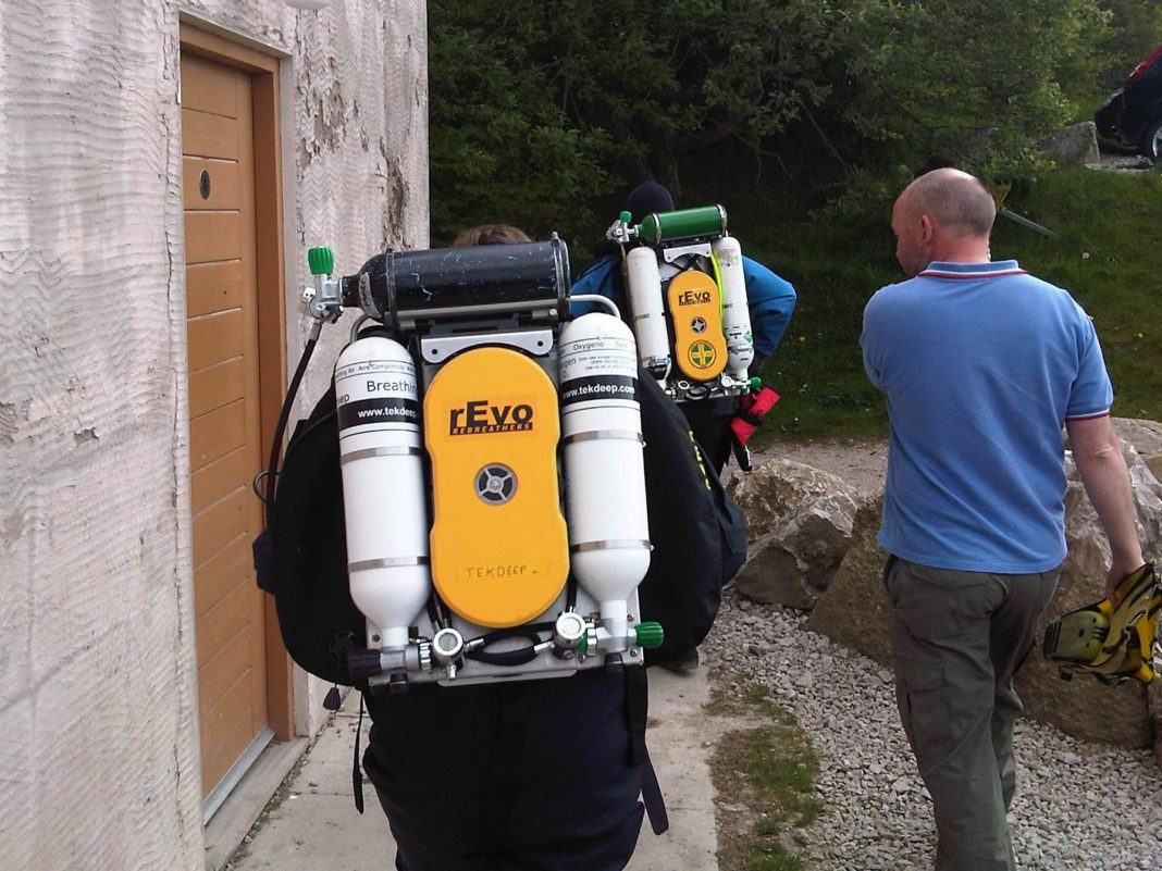 Tekdeep To Host rEvo Rebreather 'Try Dives' Later This Month