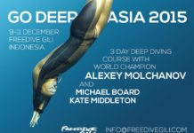 Go Deep With Alexey Molchanov At FreediveGili
