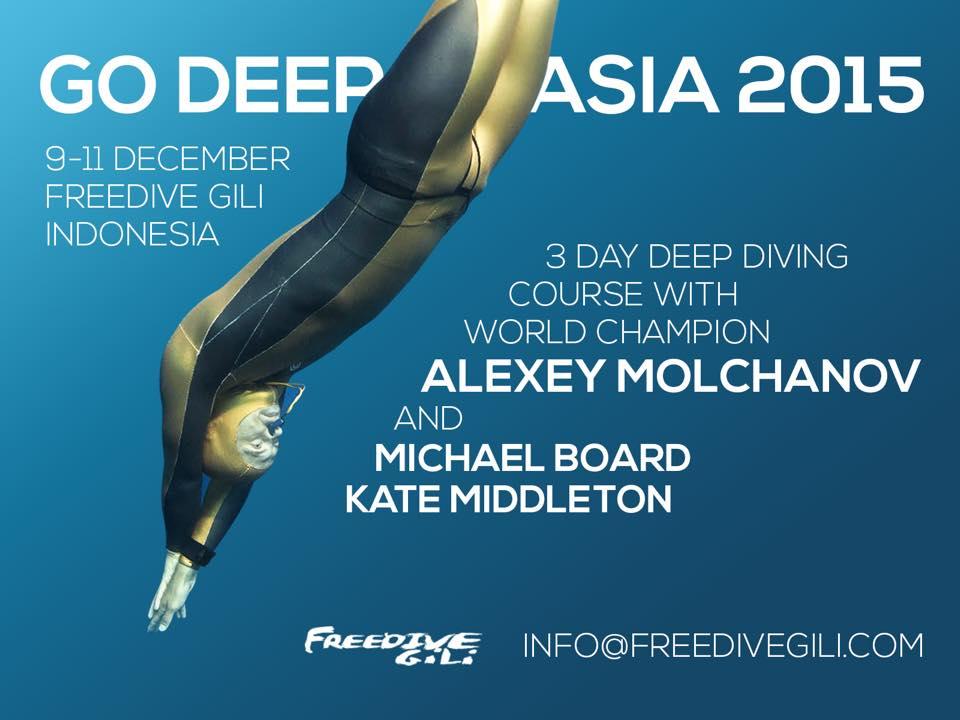 Go Deep With Alexey Molchanov At FreediveGili