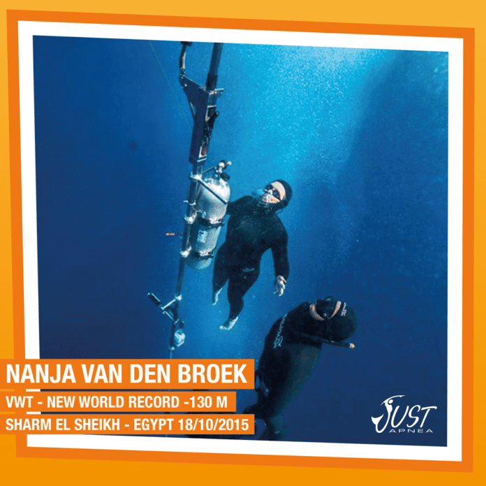 Nanja van den Broek Variable Weight World Record