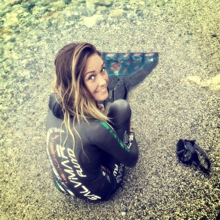 Alessia Zecchini CMAS Outdoor Apnea WC