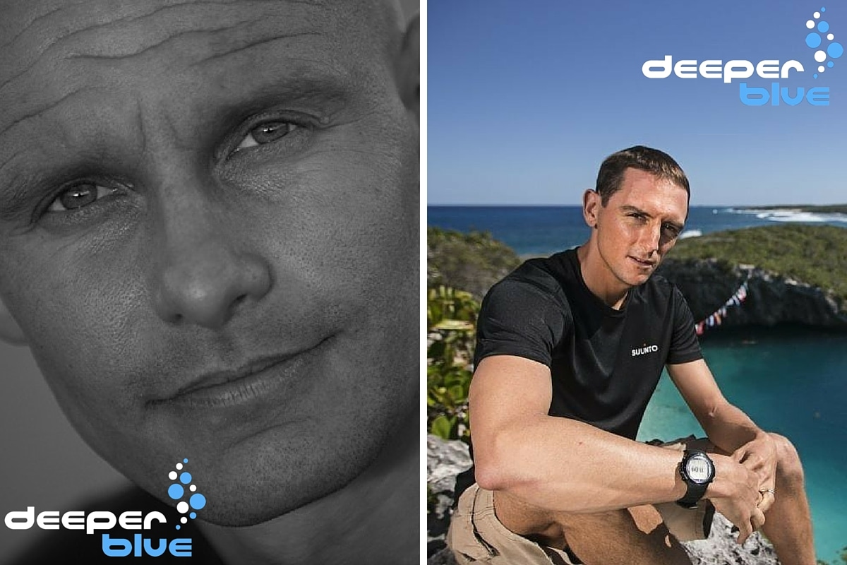 Freediving Legends William Trubridge & Stig Severinsen Join DeeperBlue At DEMA 2015