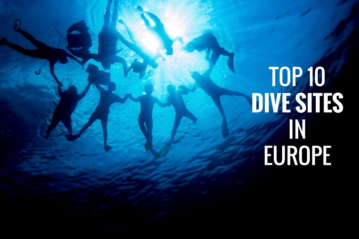 Top 10 Dive Sites in Europe