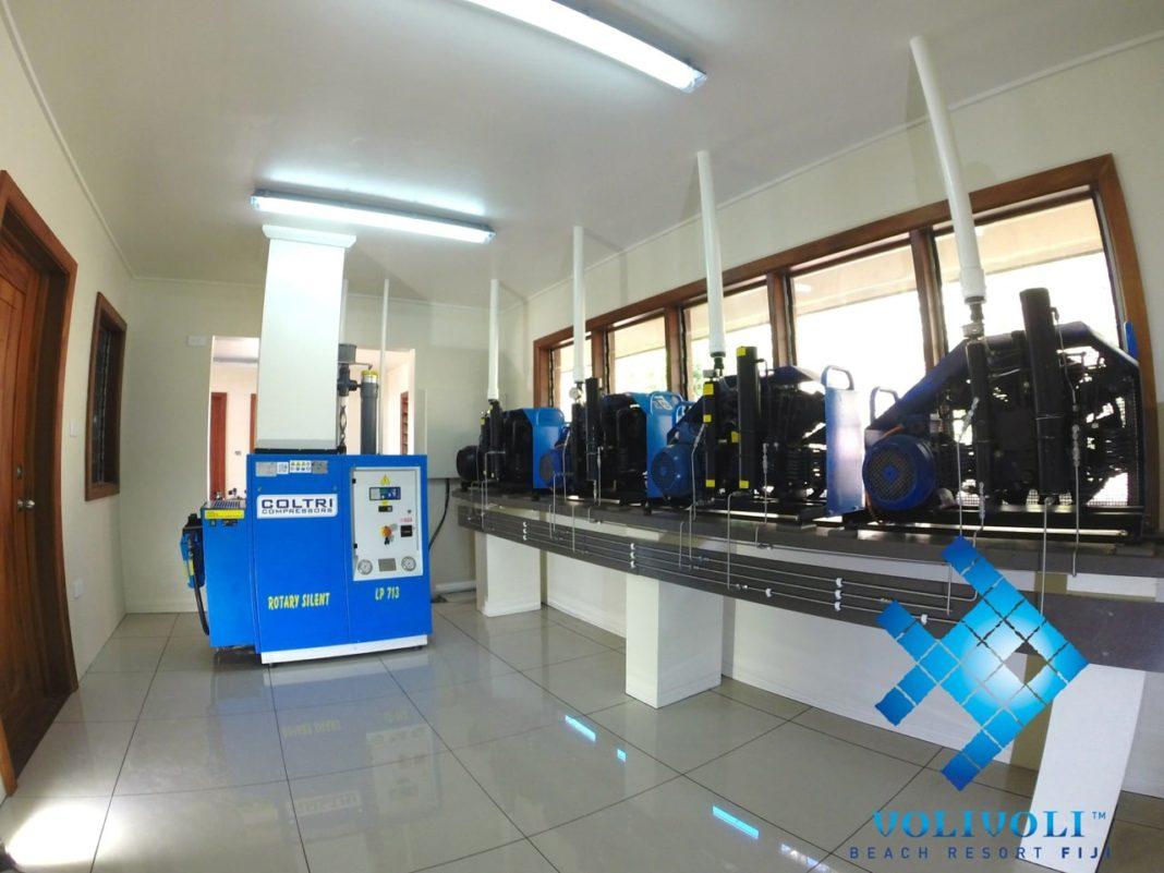 Volivoli Beach Resort Fiji's New Compressor Room