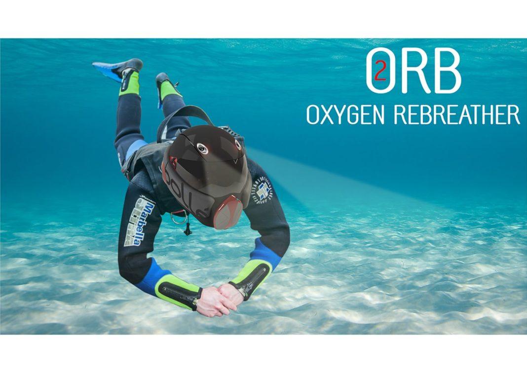 ORB (oxygen rebreather) Scuba Diving Helmet Concept