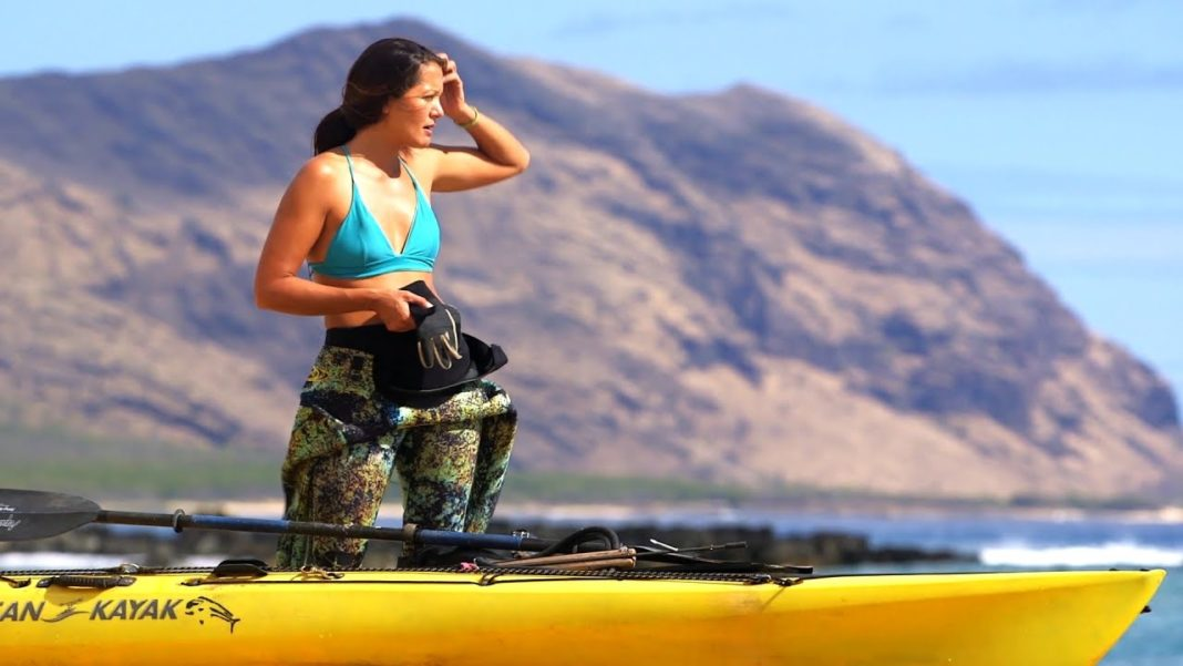 "VIDEO: Pacific Warriors Sneak Peak - Spearfishing Champion ""Kimi On The Hunt"" 1"