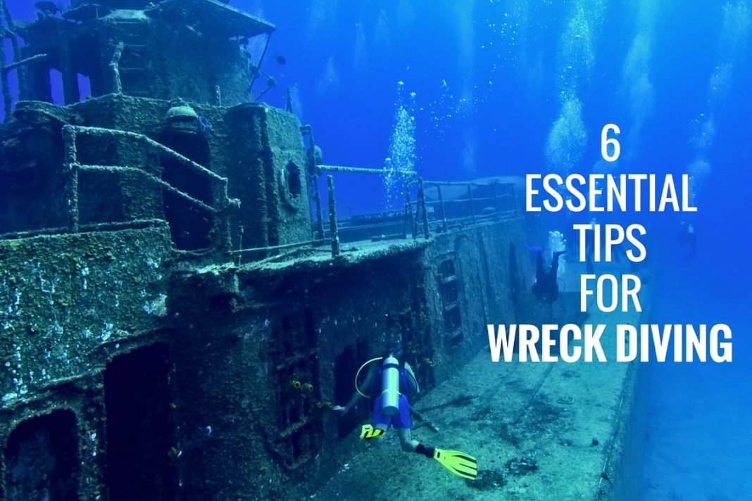 6 Essential Tips for Wreck Diving