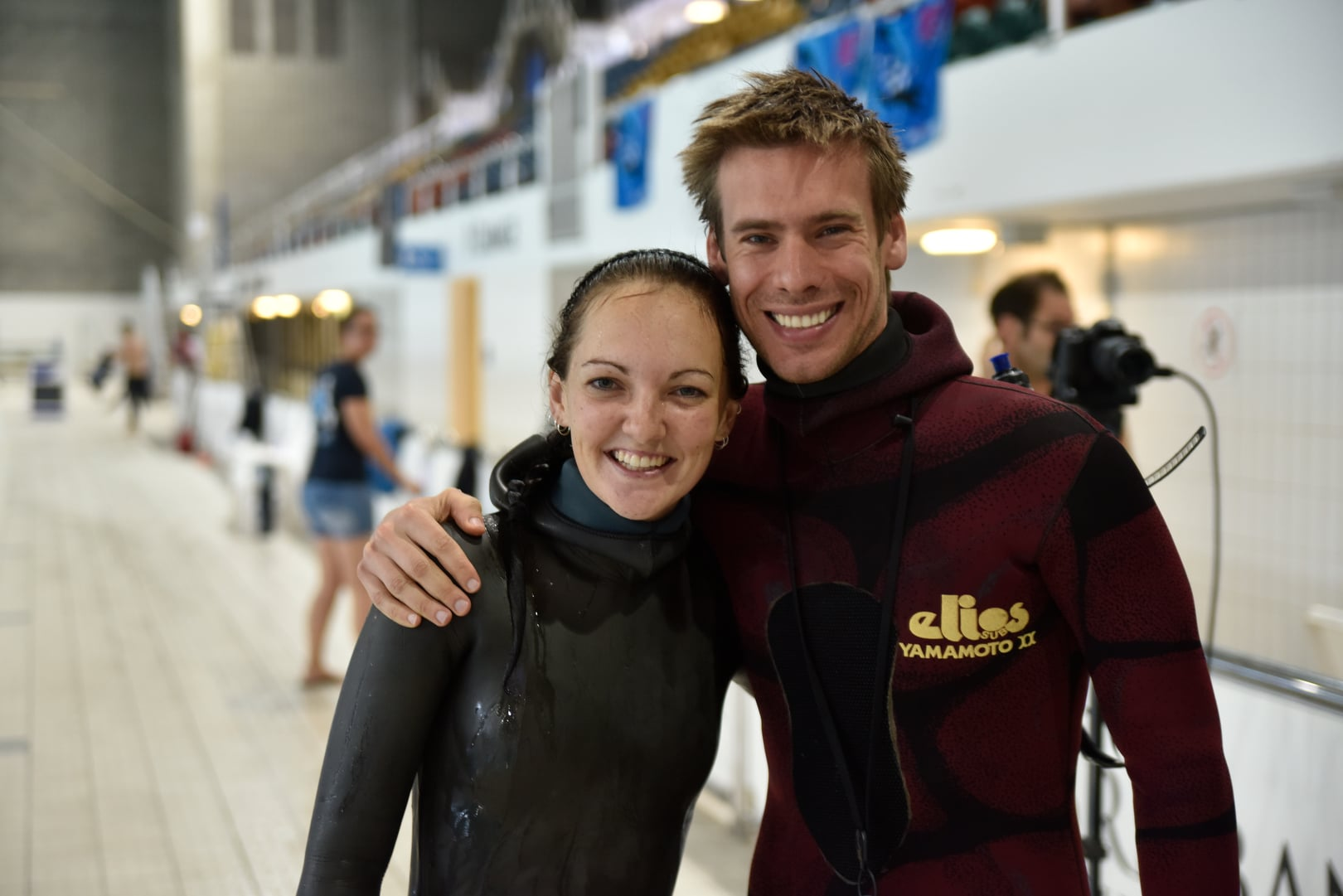 Amber Bourke From Australia and Chris Marshall Of New Zealand