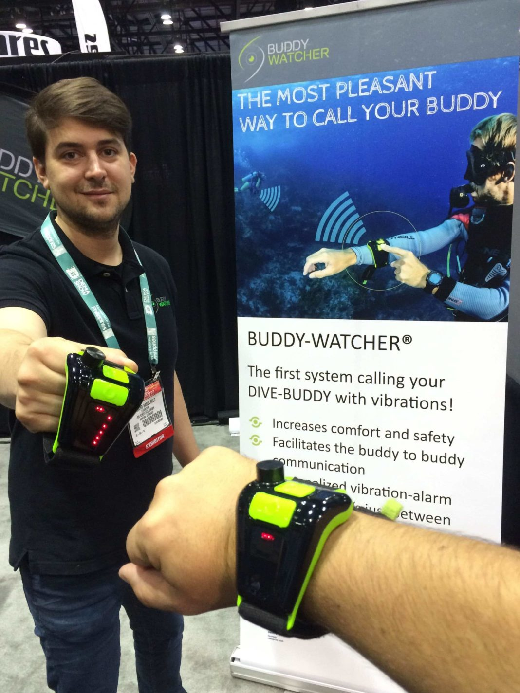 'Buddy Watcher' Generates Buzz At DEMA Show 2015