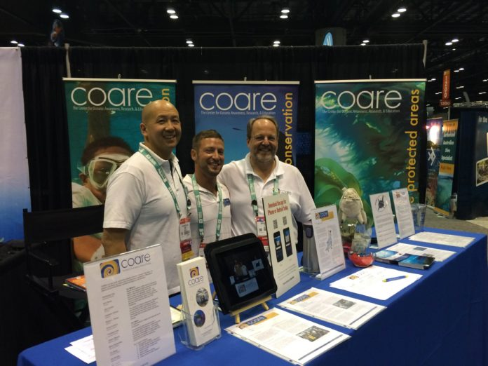 COARE Raises Ocean Awareness At DEMA Show 2015