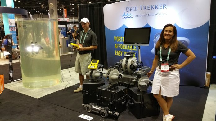Deep Trekker Wows DEMA 2015 with Real Time Underwater Drone Demonstrations