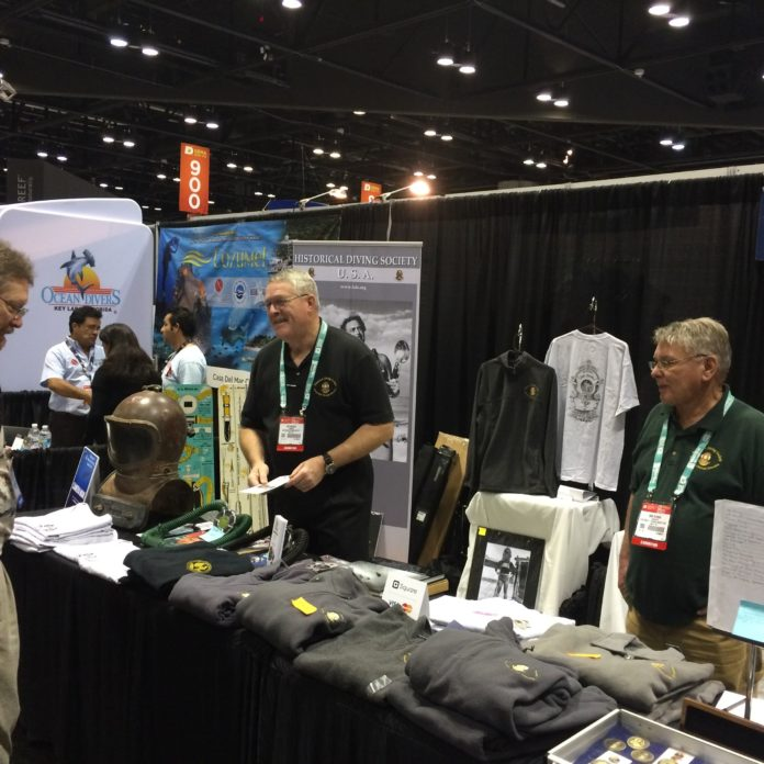 Historical Diving Society Keeps Diving's Past Alive At DEMA Show