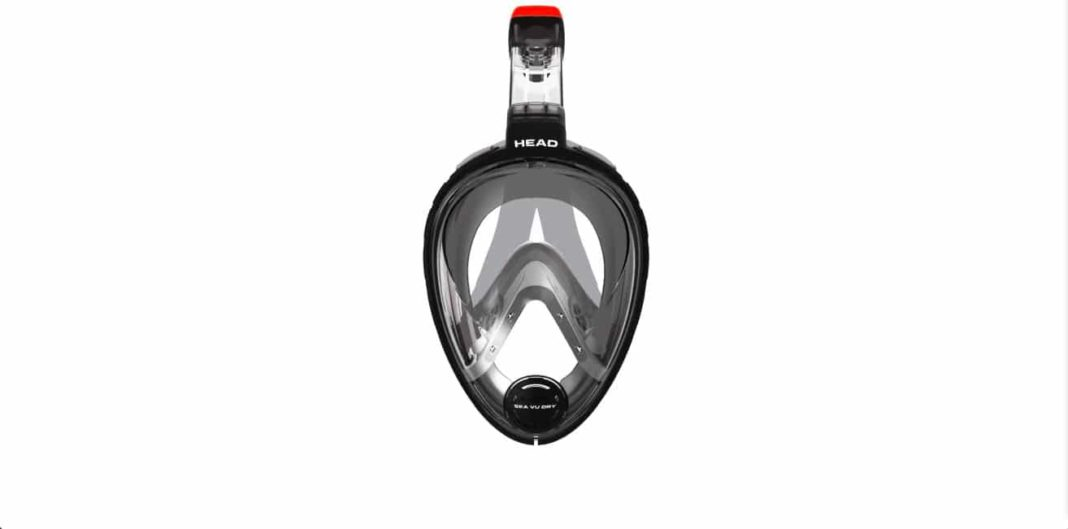 Full-face masks were on display at DEMA Show 2015