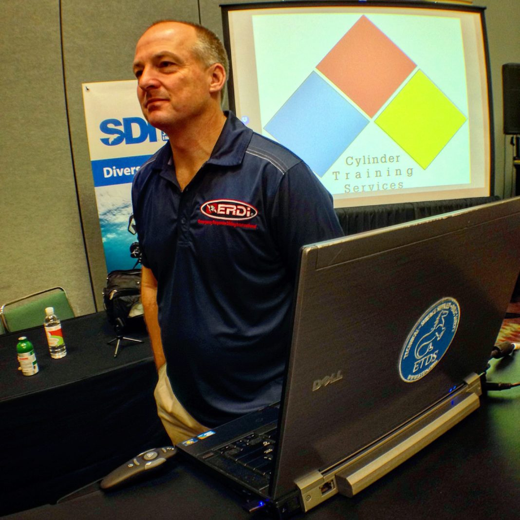 Don Kinney of Cylinder Inspection Training and author of the course.