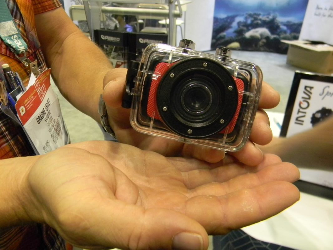 Intova highlighted a host of new underwater cameras at DEMA Show 2015