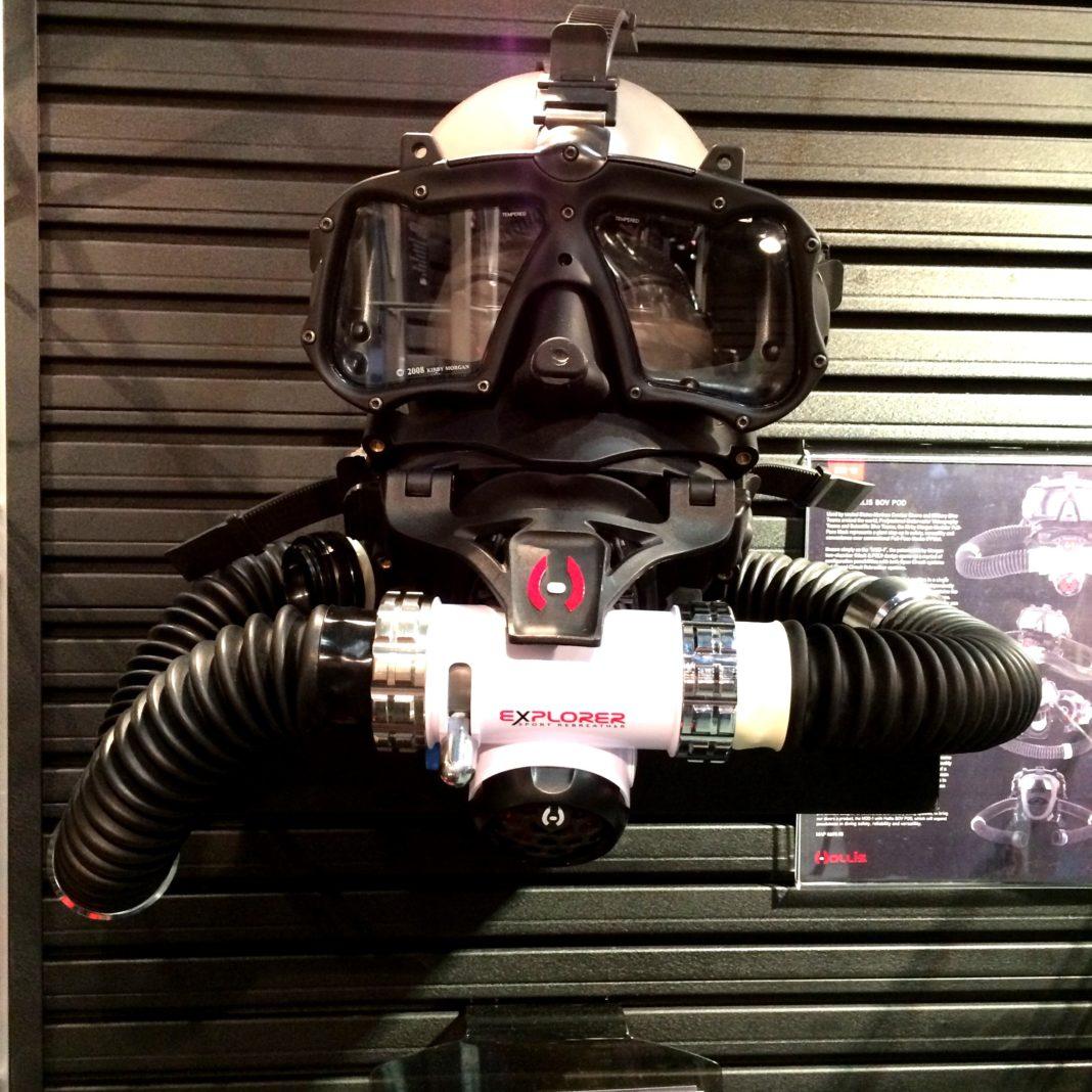 Hollis' Explorer Sport Rebreather Featured at DEMA Show 2015