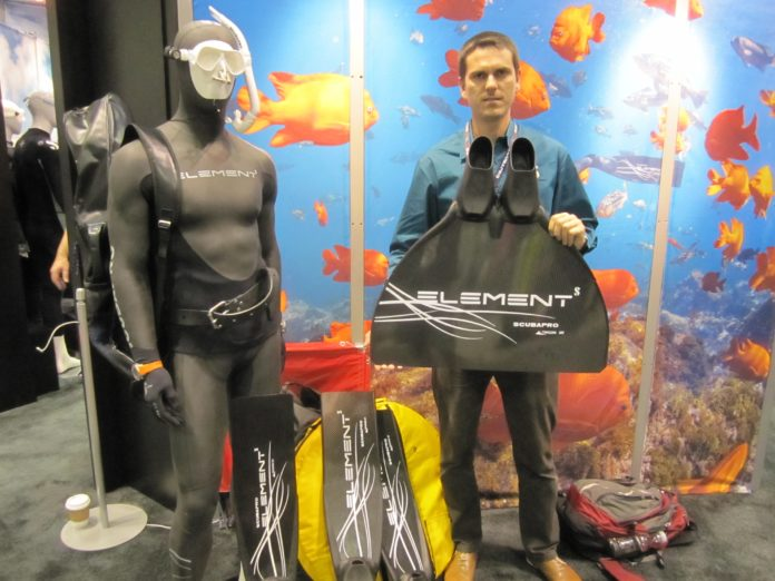 Element Freediving Products Now Carry ScubaPro Brand, Logo