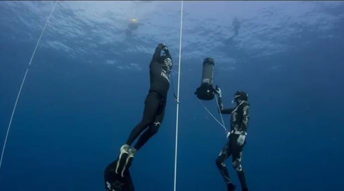 Stavros Kastrinakis Sets Freediving World Record 2