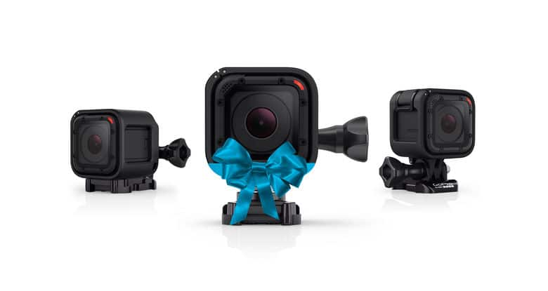 GoPro has lowered the price of its HERO4 Session camera.