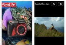SeaLife has released a new iPhone app for Micro HD+ and 2.0 cameras