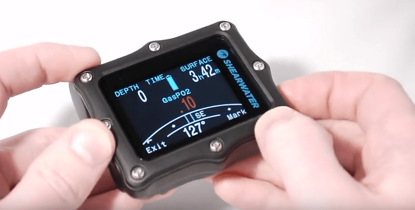 Shearwater has unveiled its new Perdix technical dive computer.