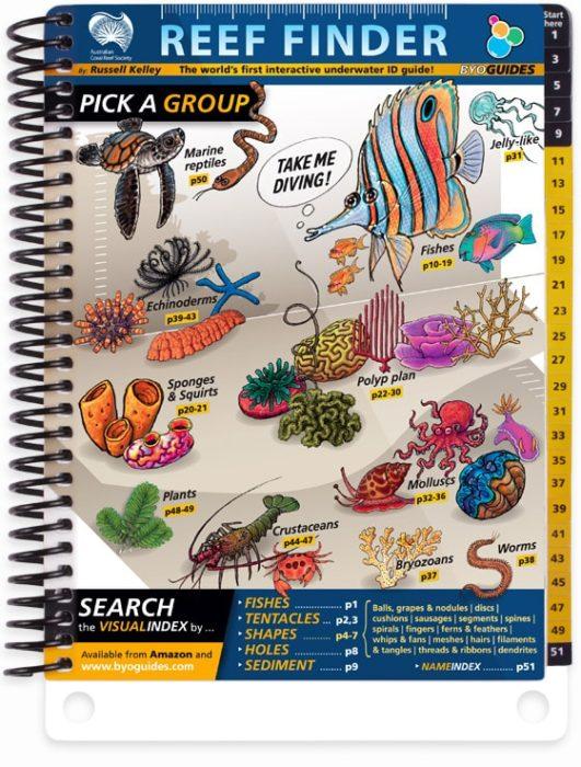 'Reef Finder' underwater guide book