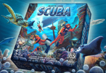 New scuba diving board game being crowdfunded (Photo credit © Keep Exploring Games, 2016)